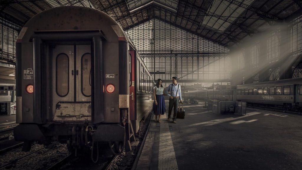 train, transportation system, railway